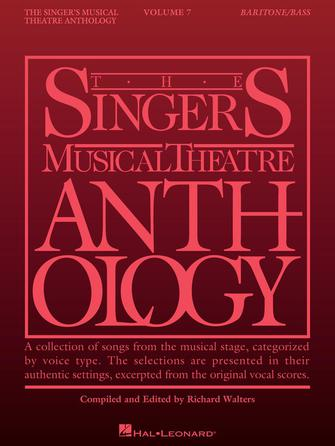 Singer's Musical Theatre Anthology – Volume 7
