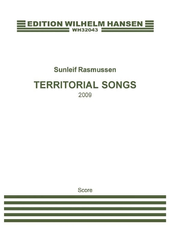 Product Cover for Territorial Songs
