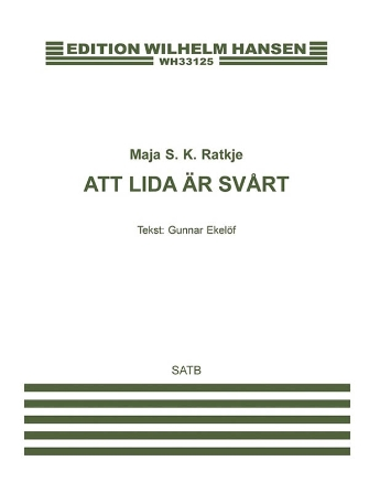 Product Cover for Att Lida Är Svart