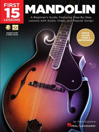 Product Cover for First 15 Lessons – Mandolin