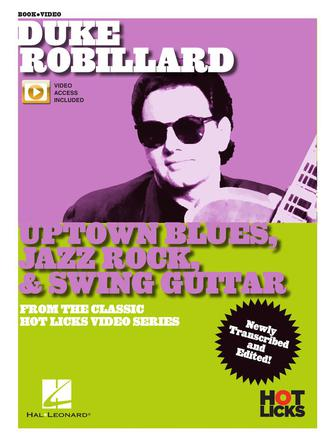 Product Cover for Duke Robillard – Uptown Blues, Jazz Rock & Swing Guitar