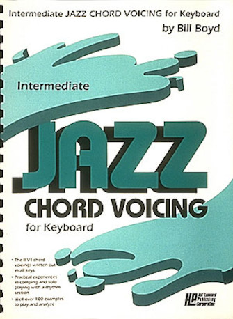 Product Cover for Intermediate Jazz Chord Voicing for Keyboard