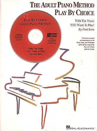 Product Cover for The Adult Piano Method Play by Choice – Accompaniment CD