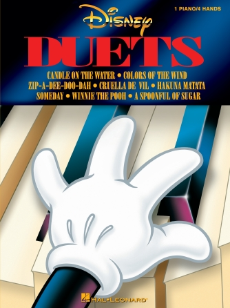 Product Cover for Disney Duets