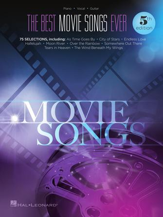 Product Cover for The Best Movie Songs Ever Songbook – 5th Edition