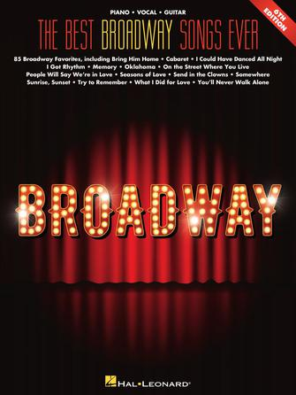 Product Cover for The Best Broadway Songs Ever – 6th Edition