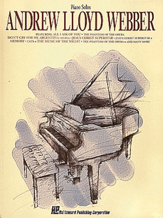 Product Cover for Andrew Lloyd Webber for Piano