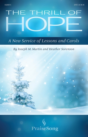 Product Cover for The Thrill of Hope (A New Service of Lessons and Carols)