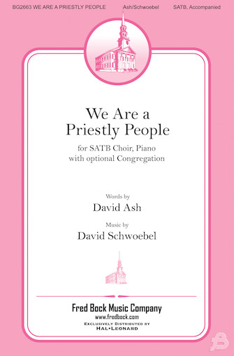 Product Cover for We Are a Priestly People