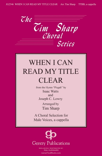 Product Cover for When I Can Read My Title Clear