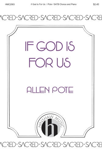 Product Cover for If God Is for Us