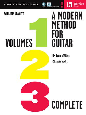 Product Cover for A Modern Method for Guitar – Complete Method