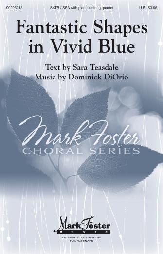 Fantastic Shapes in Vivid Blue