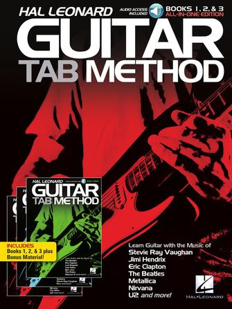Product Cover for Hal Leonard Guitar Tab Method: Books 1, 2 & 3 All-in-One Edition!