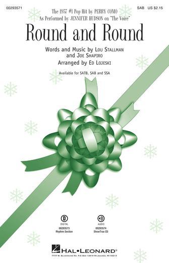 Round and Round : SAB : Ed Lojeski : Jennifer Hudson : Sheet Music : 00293571 : 888680937621