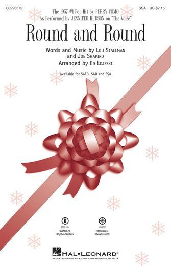 Round and Round : SSA : Ed Lojeski : Jennifer Hudson : Sheet Music : 00293572 : 888680937638