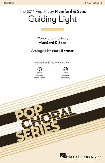 Guiding Light : 2-Part : Mark Brymer : Mumford & Sons : Sheet Music : 00293852 : 888680939465