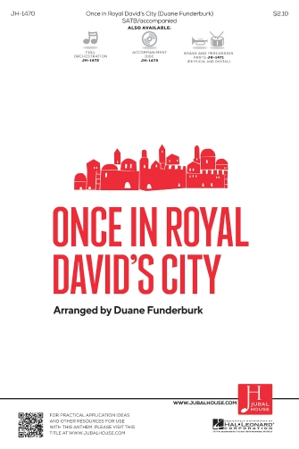 Product Cover for Once in Royal David's City