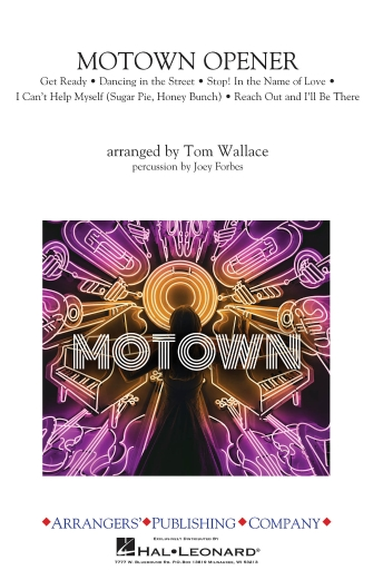 Product Cover for Motown Theme Show Opener