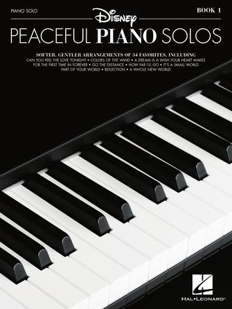 Product Cover for Disney Peaceful Piano Solos