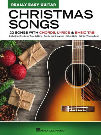 Product Cover for Christmas Songs – Really Easy Guitar Series