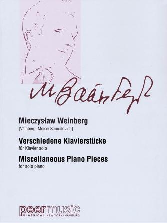 Product Cover for Miscellaneous Piano Pieces (Verschiedene Klavierstucke)