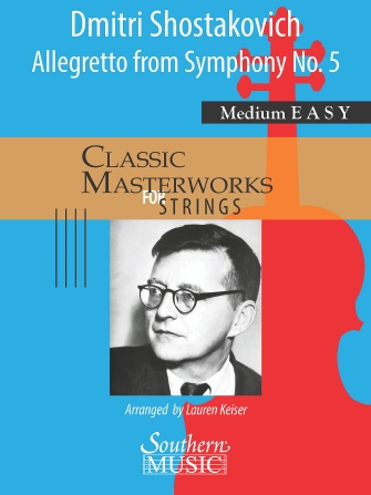 Product Cover for Allegretto from Symphony No. 5 Mvt. 2