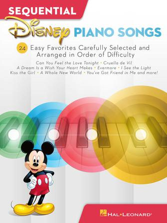 Product Cover for Sequential Disney Piano Songs