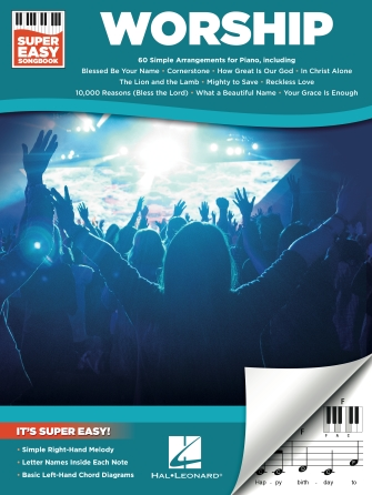 Worship Super Easy Songbook