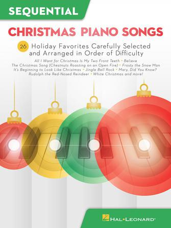 Product Cover for Sequential Christmas Piano Songs