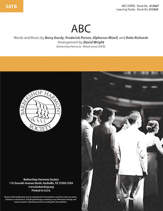 ABC : SATB : David Wright : Frederick Perren : The Jackson 5 :  1 CD : 00295005 : 888680945510