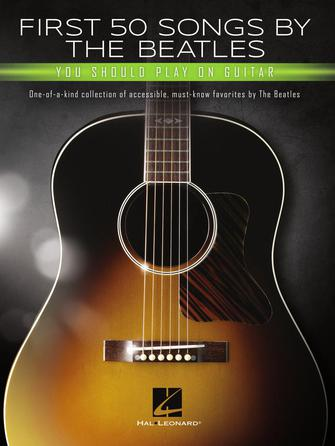Product Cover for First 50 Songs by the Beatles You Should Play on Guitar