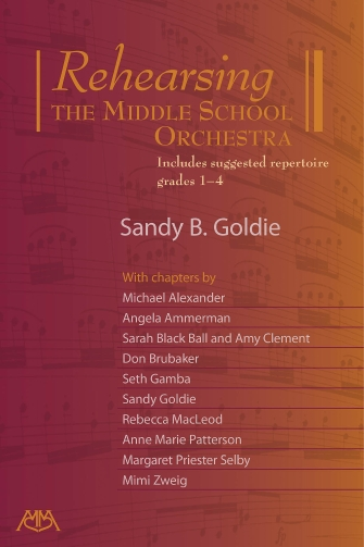 Product Cover for Rehearsing the Middle School Orchestra