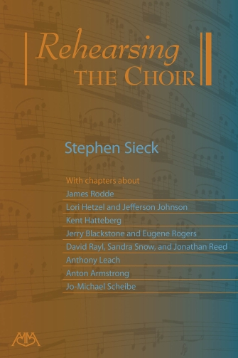 Product Cover for Rehearsing the Choir