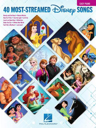 Product Cover for The 40 Most-Streamed Disney Songs