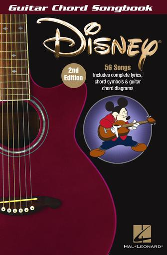 Product Cover for Disney – Guitar Chord Songbook – 2nd Edition