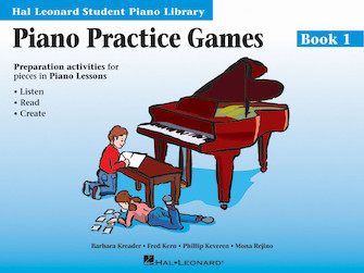 Product Cover for Piano Practice Games Book 1