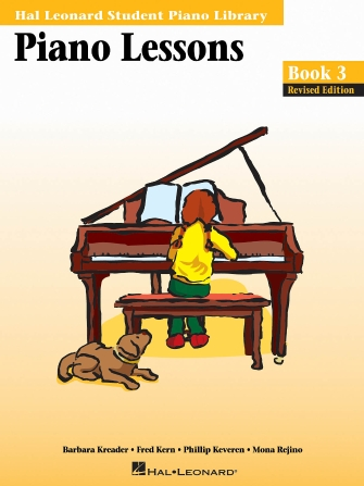 Product Cover for Piano Lessons Book 3 – Revised Edition