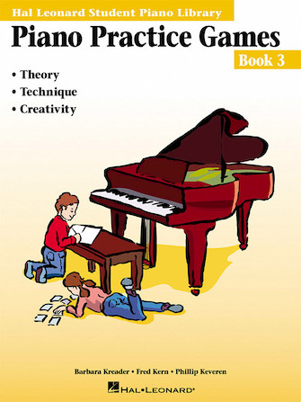 Product Cover for Piano Practice Games Book 3