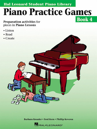 Product Cover for Piano Practice Games Book 4