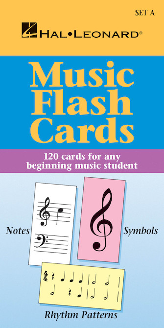 Product Cover for Music Flash Cards – Set A