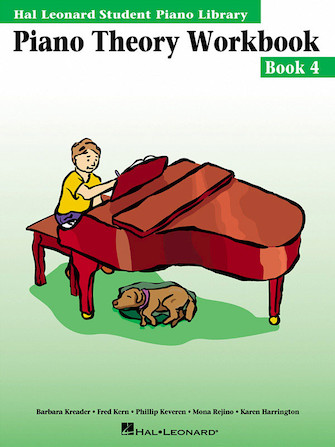 Product Cover for Piano Theory Workbook – Book 4