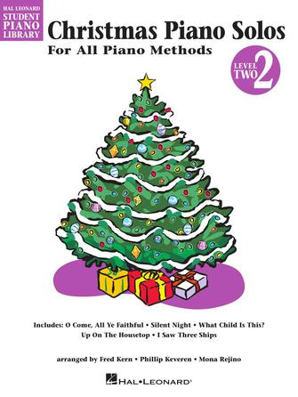 Product Cover for Christmas Piano Solos – Level 2