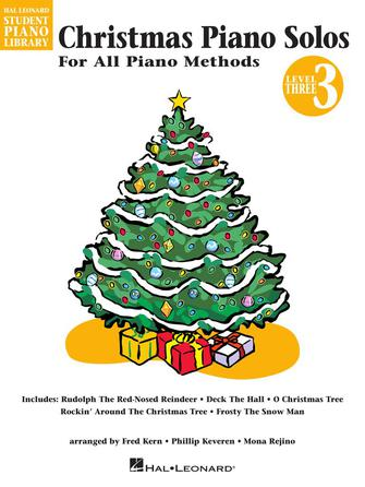 Product Cover for Christmas Piano Solos – Level 3