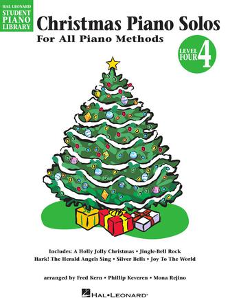 Product Cover for Christmas Piano Solos – Level 4
