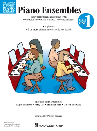 Product Cover for Piano Ensembles Level 1