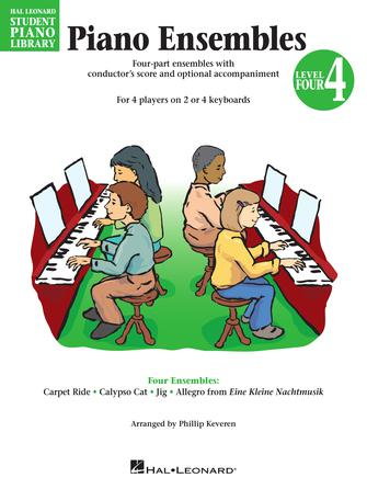 Product Cover for Piano Ensembles – Level 4