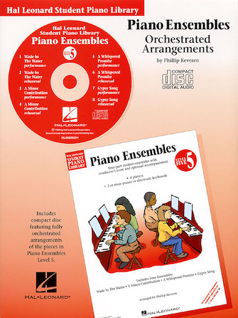 Product Cover for Piano Ensembles – Level 5 – CD