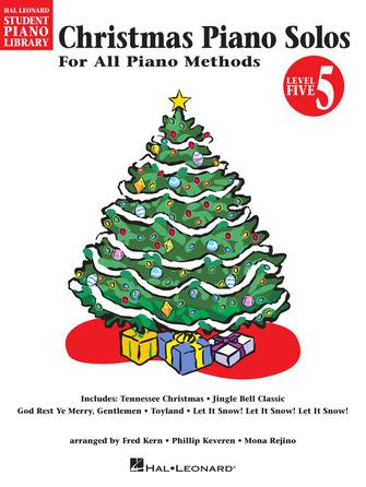 Product Cover for Christmas Piano Solos – Level 5