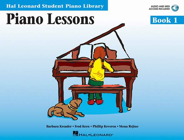 Product Cover for Piano Lessons Book 1